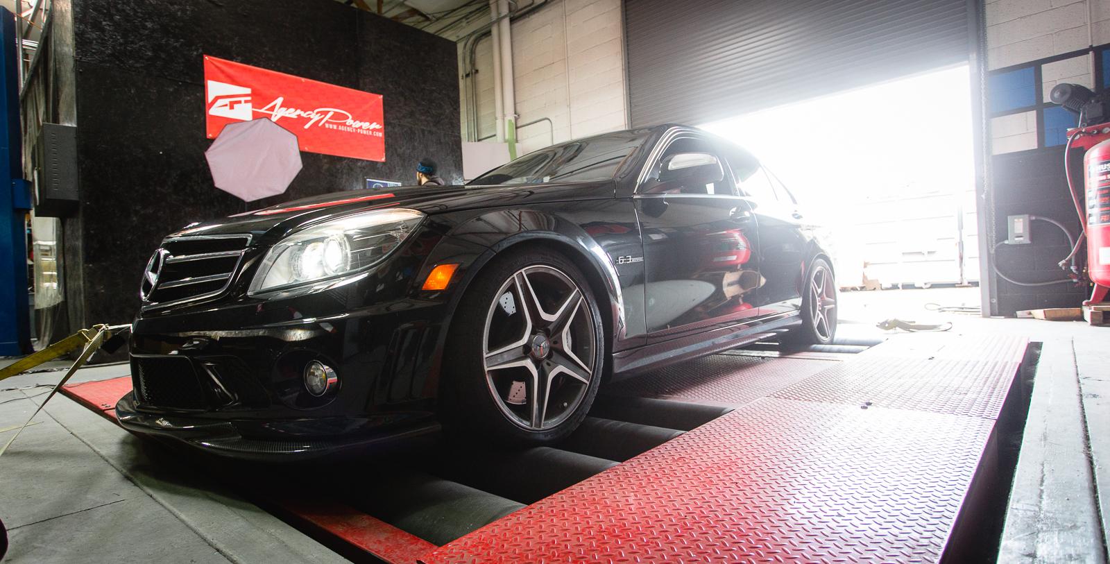 VR Tuned ECU Flash Tune Mercedes-Benz C63 AMG Black Series W204 510HP