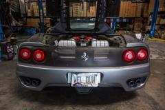 Ferrari 360 ECU Removal