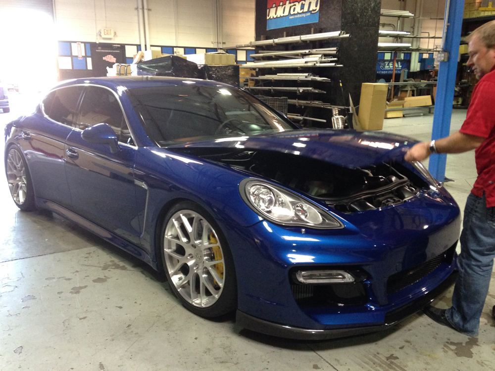 Panamera-ECU-Removal-Step-1