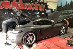 Porsche 718 ECU Removal