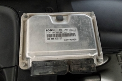 Porsche Cayenne 955 ECU Removal