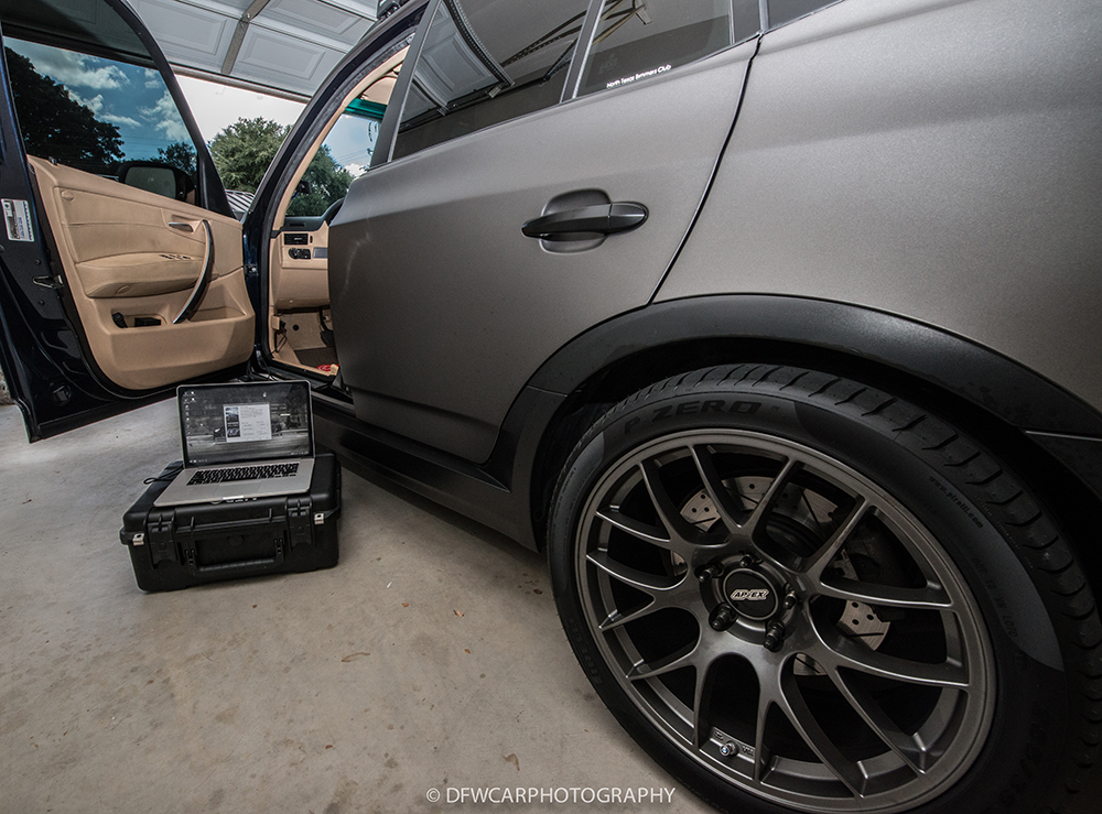BMW X3 ECU Flash Via OBDII By VR Tuned