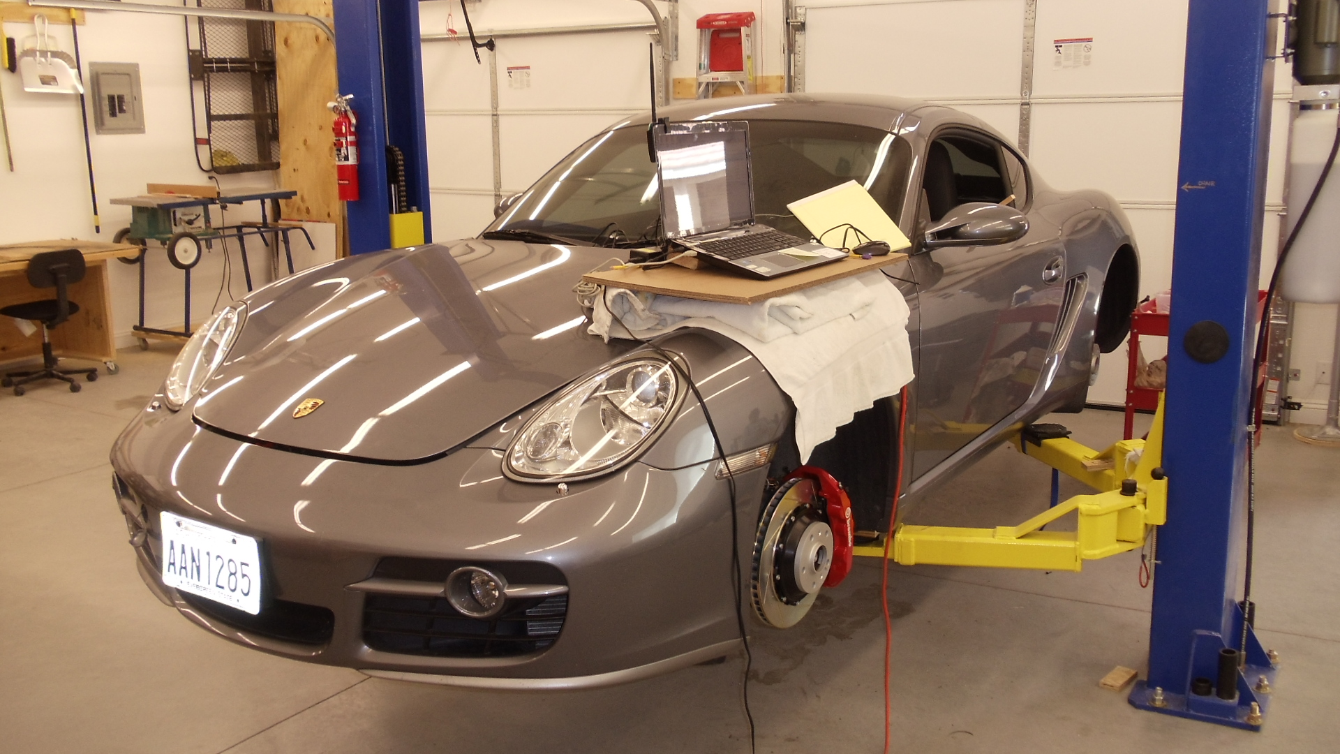 Porsche 987 Cayman S Track Car Flashed With Vr Tuned