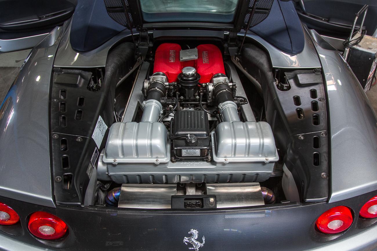 ECU Removal Ferrari 360-4