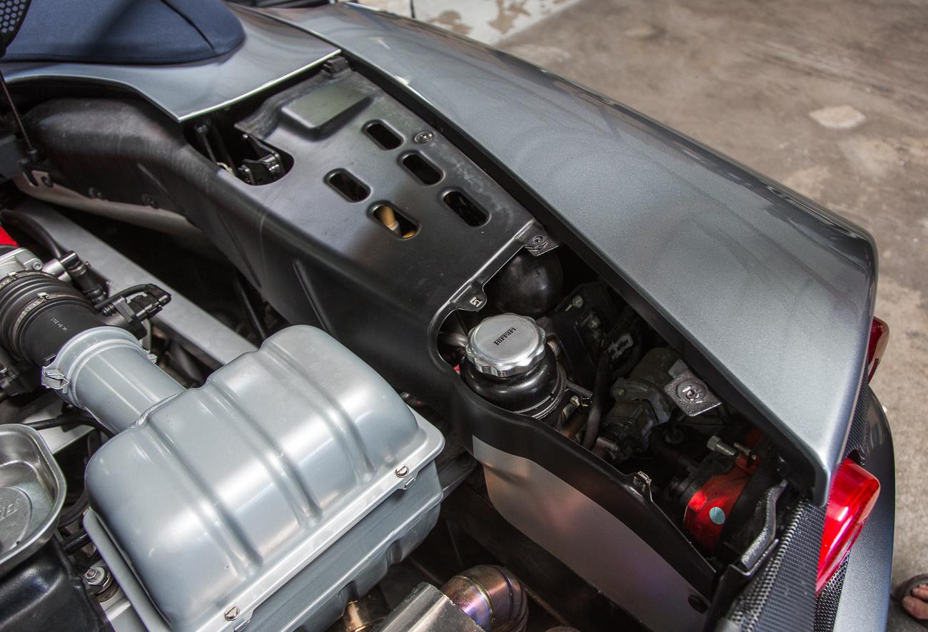 ECU Removal Ferrari 360-7