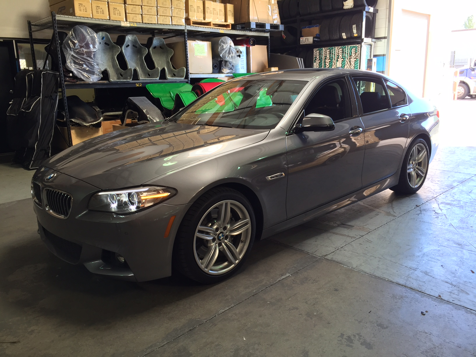 Bmw 535i F10 Boosts 60hp With Vr Tuned Tuning Box